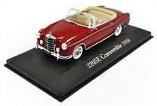 Voiture modèle réduit collection 1/43ème Mercedes 220 SE convertible 1958