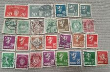 Norway 1800-1900's stamps. Used- hinged.