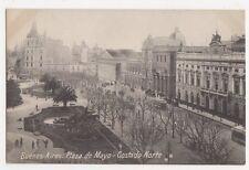 Argentina, Buenos Aires, Plaza de Mayo, Costado Norte Postcard, B208