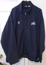 NFL Buffalo BIlls Reebok Onfield Full Zip Adult Jacket Size XL EUC