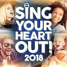 Sing Your Heart Out 2018 - Various Artists (NEW 2CD)