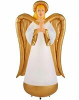 New! Gemmy Airblown 8 ft. Inflatable Fuzzy Luxe Angel Christmas