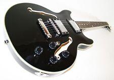 Jazz & Blues E-Gitarre, Semi Acoustic schwarz