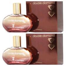 DOUBLE DIAMOND WOMEN PERFUME 3.4 OZ/100 ML 2 BOXES FREE PRIORITY USA SHIPPING