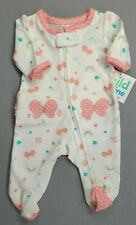 Baby Girl Clothes New Child Mine Carter's Preemie Butterfly Rainbow Outfit