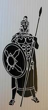 Greek hoplite warrior vinyl sticker decal for cars van vw t4 t5 fun 5363 Black