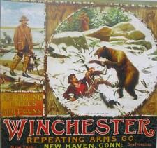 Hunter Bear Gun Ad art print