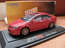 1/43 EBBRO Honda Accord Euro R red diecast