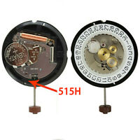 HQ515.24H 24 Hour Quartz Watch Movements 4 Pin for Ronda Watch With Battery