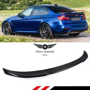CS Style FULL Carbon Fiber Rear Spoiler Boot FOR BMW F80 M3 3 Series F30 SEDAN