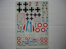 DECALS 1/72 1/48 WINGMASTER N°1 D-520 BF 109E