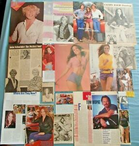 Dukes of Hazard Catherine Bach John Schneider Tom Wopat Great Clippings L@@K!