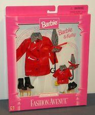 Barbie & Kelly Fashion Avenue Matchin Styles Outfit 1997 #18114 NIB Red Raincoat