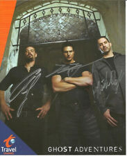* GHOST ADVENTURES CAST SIGNED POSTER PHOTO 8X10 RP AUTOGRAPHED ZAK BAGANS & ALL