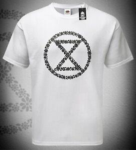 Mens Extinction Rebellion T-Shirt Support Environment Environmental