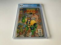 JUDGE DREDD 1 CGC 9.8 WHITE PAGES HE IS THE LAW DC COMICS 1994