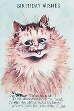 More details for louis wain cat antique postcard, wildt & kray 3321