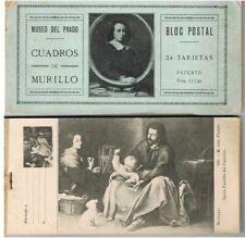 LOTE DE 24 TARJETAS POSTALES DE MURILLO Y SU OBRA # 74