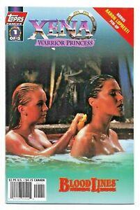 Xena Warrior Princess: Bloodlines Photo Cvrs Full set #1 & 2 Topps, 1998 8.5 VF+