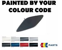 BMW E92 E93 FRONT BUMPER LEFT HEADLIGHT WASHER COVER PAINTED BY YOUR COLOUR CODE