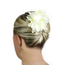 Hair Fascinators Flowers Wedding Accessories Ladies Bridal Head Pieces Clips UK