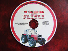MASSEY FERGUSON MF350 350H 355 360 372 390 399 WORKSHOP SERVICE REPAIR MANUAL