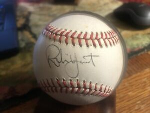 Brewers great Robin Yount Signed Autographed Official MLB Baseball