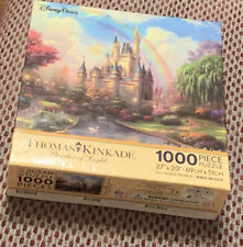 Disney Parks Thomas Kinkade A New Day at the Cinderella Castle Puzzle