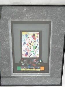 AMAZING SIGNED JAMES J. CONNOLLY COLLAGE RELIEF ART