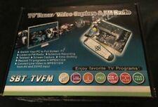 Sintonizador de TV y captura de video