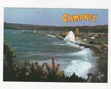 Camaret Tempete de Noroit sur le Sillon Bretagne France Postcard 366a ^