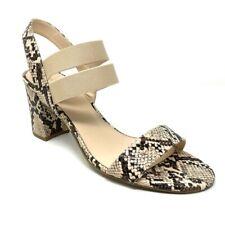 Bandolino NWOT Alia Snake Print Block Heel Sandals NWOT Size 10