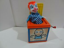 Vintage Mattel Jack In The Music Box 1976 Pop-up Clown Toy Works Pop Goes the We