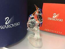 Swarovski Figur Eisvögel 10,2 cm. Mit Ovp & Zertifikat !! Top Zustand !!