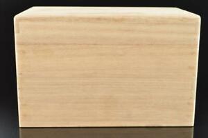 L1154: Japanese Wooden TEA CEREMONY BOX Chabako utensils used in Senchado