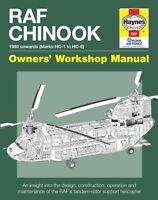 Haynes RAF Chinook Manual H5401