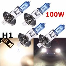 4 pcs H1 12V Car Bright White Fog Head Light Globes Bulbs Lamp 100W Xenon white