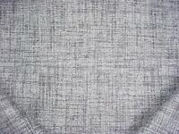 4Y Romo 7775/08 Rafu Loam Grey White Silver Chenille Strie Upholstery Fabric