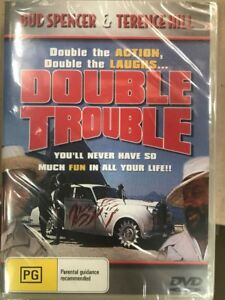 Double Trouble DVD Bud Spencer Terence Hill New and Sealed Australian Release