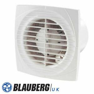 "4"" 100mm and 6"" 150 mm Timer Humidistat Std Toilet Extractor Bathroom Fan"
