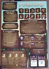 Robinson Crusoe Board Game Poachers Promo Scenario Expansion New Mint