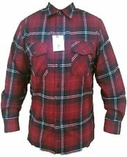 Mens Yago Longsleeve Button Down Plaid Flannel Collar Shirt
