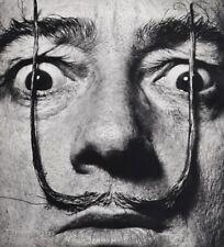 1954 Vintage Salvador Dali Mustache Eyes Face Photo Art PHILIPPE HALSMAN 16x20