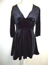 BOOHOO Kleid Gr. 36 Ausgehkleid, Tanzkleid, Abendkleid, Samtoptik Damen Mode NEU