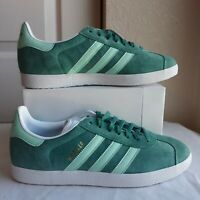 Size 8 Adidas Gazelle Sneakers Casual    - Green - Mens