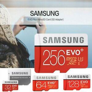 Samsung Micro SD Card EVO PLUS Class 10 SDXC 64GB 128GB 256GB 512GB Memory