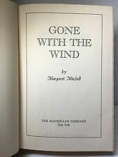 GONE WITH THE WIND - Margaret Mitchell - Book Club Edition - 1936