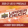 Break#3 2020-21 UPPER DECK SERIES 1 HOBBY BOX BREAK! RANDOM TEAMS-FREE SHIPPING!