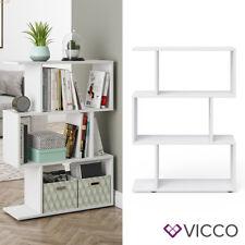Vicco LEVIO 70x97,4x23,8cm Raumteiler - Weiß (1BA224114)