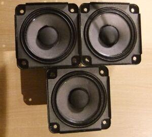 3 X Bose Drivers Loud Speakers Full Range 2.55 inch 4.6 Ohm, 30 Watts RMS